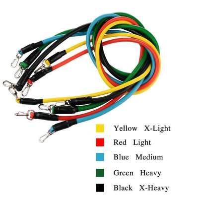 11pcs Resistance Bands image 2