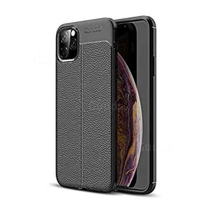 Auto Focus Leather Pattern Soft  Back Case Cover for Apple iPhone 11/11 Pro/11 Pro Max image 1