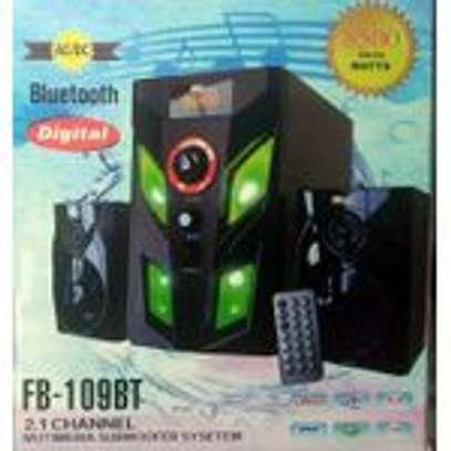 Fboss Superwoofer,Hitechmedia Bluetooth,USB,FM-8500watts image 1