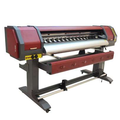 1.8m eco solvent printing machine to print vinyl stickers image 1