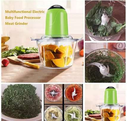 Multi functional electric mincer image 1