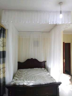 Brand new custom made Rail shears mosquito nets sliding like curtains fixed on the ceiling image 10