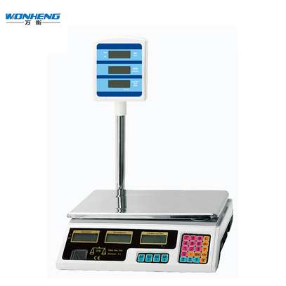 30kg High Precision Balances for Industry and Retail Commercial Digital Balance Scale with Green LCD Backlight image 1