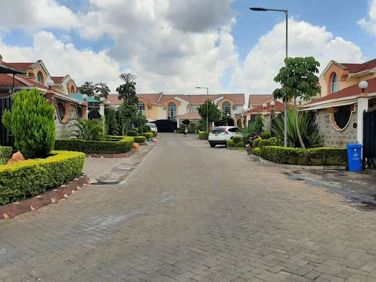 4 bedroom townhouse for rent in Langata Area image 11