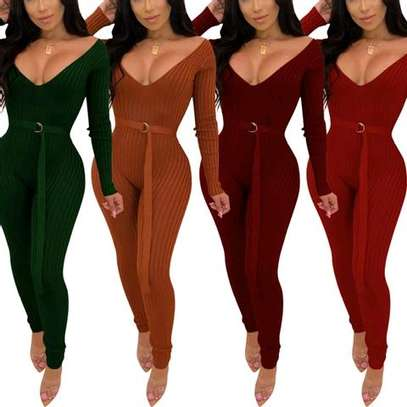 Bodycon sweater jumpsuit image 1
