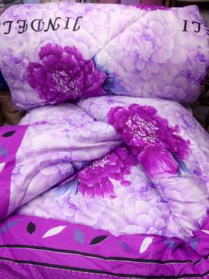 Quality cotton duvets with one pillow case image 11
