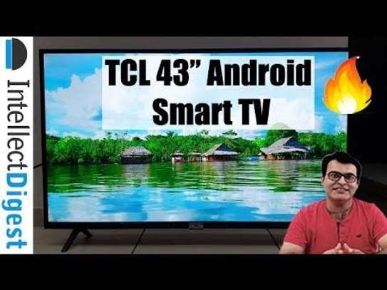 TCL 43 inch digital smart android TV image 1