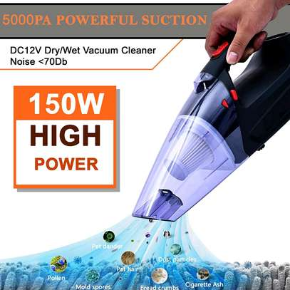150W,5000PA car vacuum cleaner Dry and wet image 1
