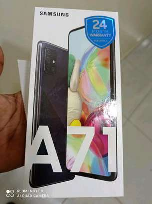 Samsung Galaxy a71 brand new image 2