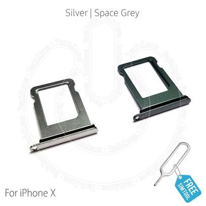 Sim Card Tray Holder Slot for iPhone X/Xs image 3