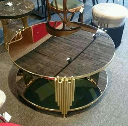 Classy mirrored coffee table design for sale in Nairobi Kenya. image 1