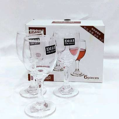 6pcs wine Glasses image 2