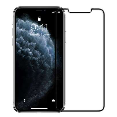 IPHONE 11/11 PRO/11 PRO MAX 3D FULL TEMPERED GLASS SCREEN PROTECTOR image 1