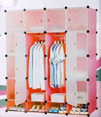 4 columns portable wardrobes#1 image 1