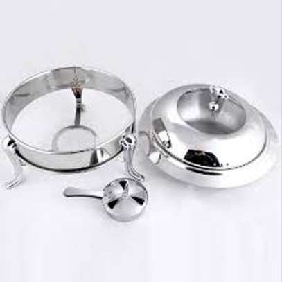 5 pc stainless steel food warmer set image 4