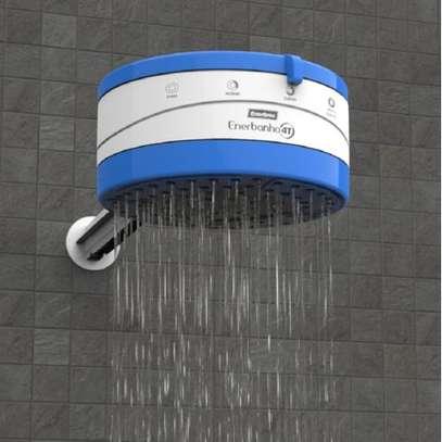 Enershower 4 Temp (4T) Instant Shower Heater - Blue image 2