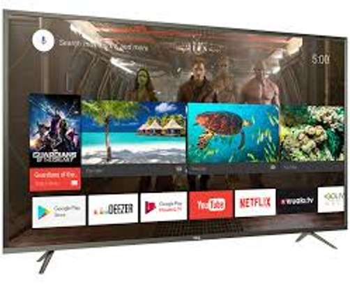 BRAND NEW 49 INCH TCL SMART ANDROID TV image 1