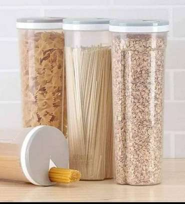 Spaghetti Cereal Storage Container