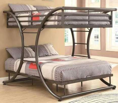 Metallic Double beds for sale. image 1