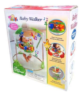 Jumperoo Baby Jump & Learn Stationary Jumper Baby Bouncing Swing image 5