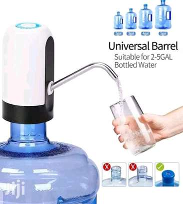 Electric Water Pump Dispenser USB Rechargeable Automatic Drinking Water Bottles image 2