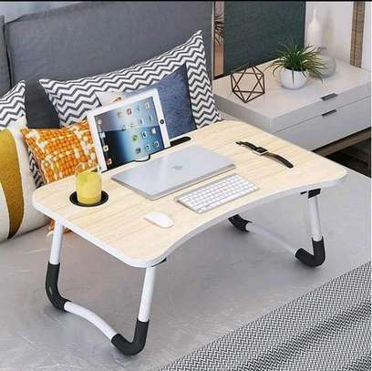 Foldable laptop bed table image 1