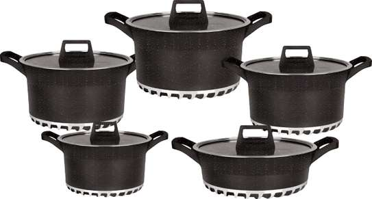 10pcs BOSCH Germany Brand Granite Cooking Pots image 5