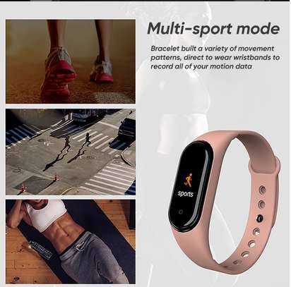Smart Fitness Watch Bracelet M4 Tracker Band Activity Heart Rate Monitor image 12