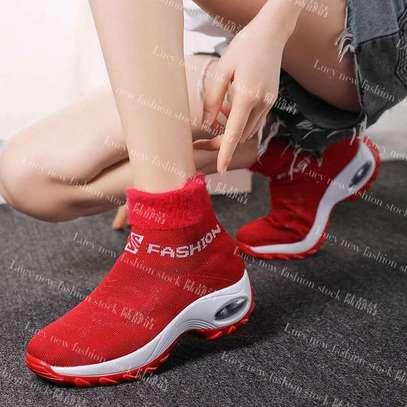 Ladies socks boot sneakers image 1