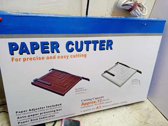 Paper Cutter A4 Size Metallic-grey image 1