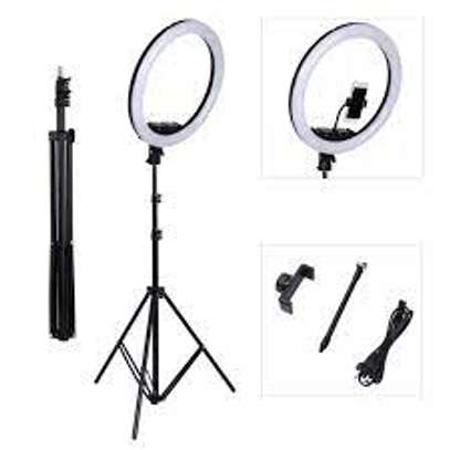 LED Ring Light for Photos Videos image 1