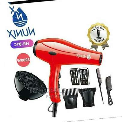 Nunix Blow Dry Machine -hair Dryer HD-01C image 1