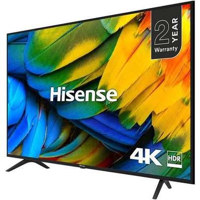 Hisense 50'' 4K ULTRA HD SMART TV, NETFLIX, BLUETOOTH-NEW image 1