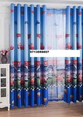 Cartooned curtains image 2