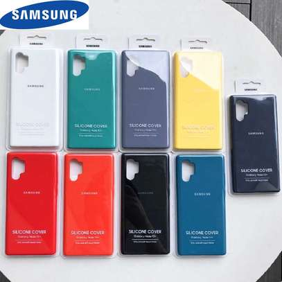 Silicone Case for Samsung Note 10/Note 10 Plus image 4