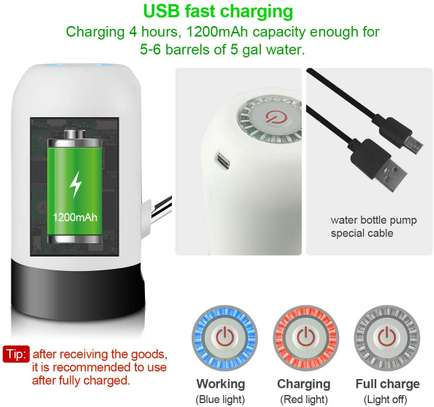 Drinking Water Pump Automatic USB Charging image 3