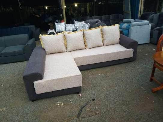 L shape huge mattress 6seater image 1