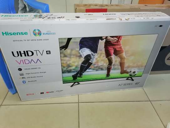 Hisense 43 inch smart 4k uhd led TV image 1