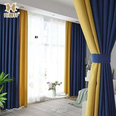 QUALITY CURTAINS WITH MATCHING SHEERS image 2