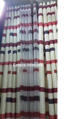 Matched curtains and sheers image 7