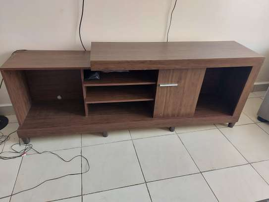 Tv stand - brown image 1