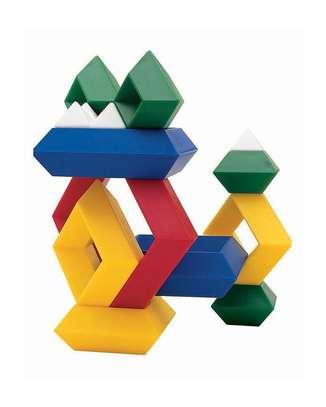 Kids/Children Deluxe Set 30 Pc Building Block Set Educational Toy image 3