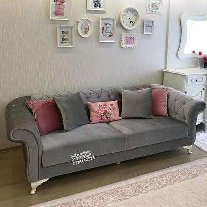Three seater sofa/modern livingroom sofas image 1