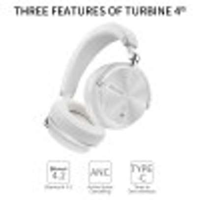 Bluedio Premium T4S Active Noise Cancelling Bluetooth Wireless Headphone image 2