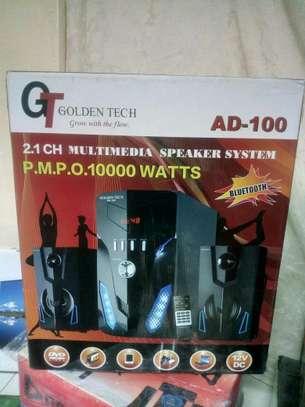 Golden Tech AD-100 2.1CH Multimedia Speaker System image 1