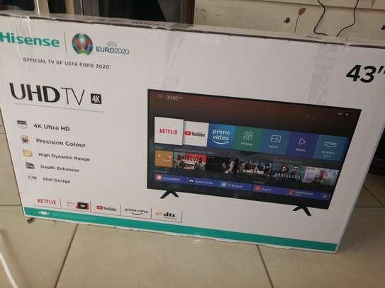 "hisense 43"" smart digital 4k tv image 1"