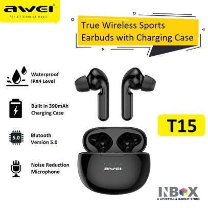 TRUE WIRELESS SPORTS EARBUDST15 image 1