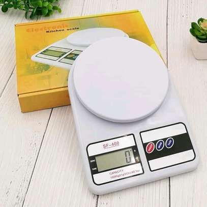 *Digital kitchen weighing scale +2 batteries image 1