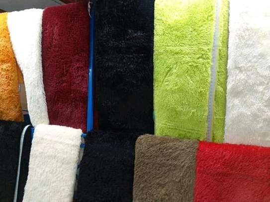 5*8 soft fluffy carpets image 1