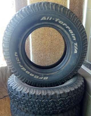 BF Good rich tyres size 16